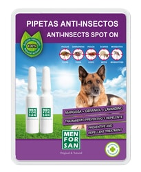 Menforsan antiparazitní pipety pro psa 2ks