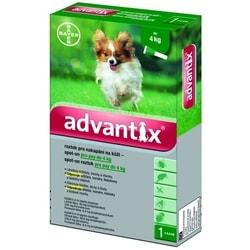 Advantix antiparazitní pipeta pro psy od 4 - 10 kg, 1 x 1 ml