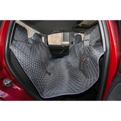Reedog ochranný potah do auta pro psy na zip - šedý