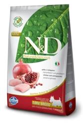 N&D GF DOG Adult Mini Chicken & Pomegranate 7kg
